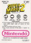 Nintendo Game Pack SMB2 Card 6 Back