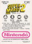 Nintendo Game Pack SMB2 Card 7 Back