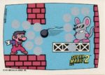 Nintendo Game Pack SMB2 Card 8 Front