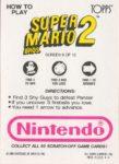 Nintendo Game Pack SMB2 Card 9 Back