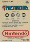 Nintendo Game Pack Series 2 Metroid 1 Back