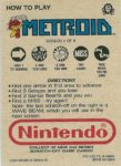Nintendo Game Pack Series 2 Metroid 4 Back