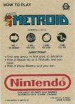 Nintendo Game Pack Series 2 Metroid 5 Back