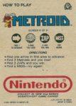 Nintendo Game Pack Series 2 Metroid 8 Back