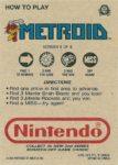 Nintendo Game Pack Series 2 Metroid 9 Back