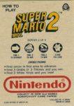 Nintendo Game Pack Series 2 SMB2 2 Back