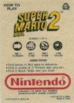 Nintendo Game Pack Series 2 SMB2 4 Back