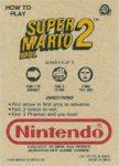 Nintendo Game Pack Series 2 SMB2 6 Back