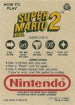 Nintendo Game Pack Series 2 SMB2 9 Back