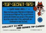 Nintendo Game Pack Series 2 Sticker 35 Back