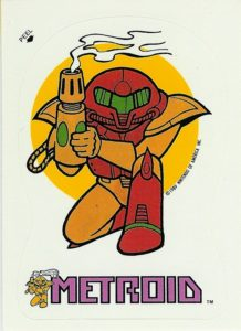Nintendo Game Pack Series 2 Sticker 35 Front