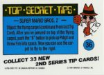 Nintendo Game Pack Series 2 Sticker 36 Back