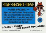 Nintendo Game Pack Series 2 Sticker 38 Back