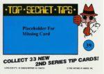 Nintendo Game Pack Series 2 Sticker 39 Back