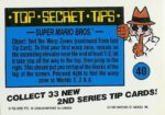 Nintendo Game Pack Series 2 Sticker 40 Back