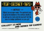 Nintendo Game Pack Series 2 Sticker 41 Back