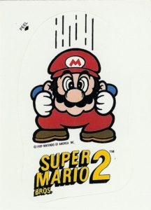 Nintendo Game Pack Series 2 Sticker 45 Front