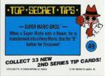 Nintendo Game Pack Series 2 Sticker 49 Back