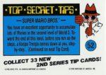 Nintendo Game Pack Series 2 Sticker 52 Back