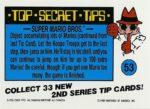 Nintendo Game Pack Series 2 Sticker 53 Back
