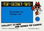 Nintendo Game Pack Series 2 Sticker 63 Back