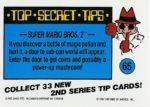 Nintendo Game Pack Series 2 Sticker 65 Back