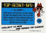 Nintendo Game Pack Series 2 Sticker 66 Back