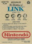 Nintendo Game Pack Series 2 Zelda II 1 Back