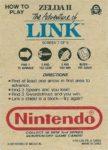 Nintendo Game Pack Series 2 Zelda II 7 Back