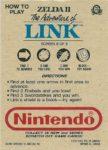 Nintendo Game Pack Series 2 Zelda II 8 Back