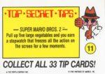 Nintendo Game Pack Sticker 11 Back