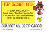 Nintendo Game Pack Sticker 13 Back
