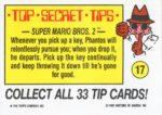 Nintendo Game Pack Sticker 17 Back