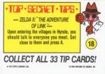 Nintendo Game Pack Sticker 18 Back