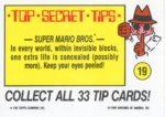 Nintendo Game Pack Sticker 19 Back