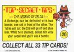 Nintendo Game Pack Sticker 20 Back
