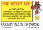 Nintendo Game Pack Sticker 21 Back