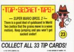 Nintendo Game Pack Sticker 23 Back