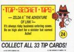 Nintendo Game Pack Sticker 24 Back