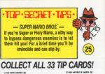 Nintendo Game Pack Sticker 25 Back