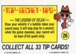 Nintendo Game Pack Sticker 26 Back