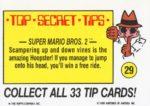 Nintendo Game Pack Sticker 29 Back