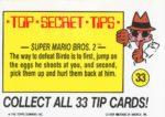 Nintendo Game Pack Sticker 33 Back