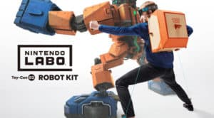 Nintendo Labo Robot Kit Box