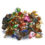 Nintendo Character Illustration