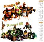 Kongs 96 Calendar