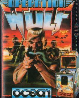 Operation Wolf Amstrad CPC Box