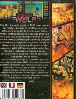 Operation Wolf Amstrad CPC Box Back