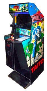Operation Wolf Arcade Cabinet