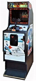 Operation Wolf Arcade Cabinet Front